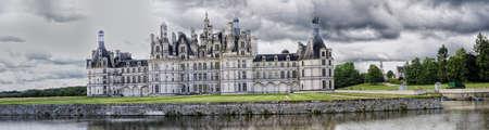 chambord: Chateau du Chambord, Loire Valley, France  Editorial