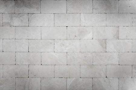 limestone: Grey stone wall backgrounds Stock Photo