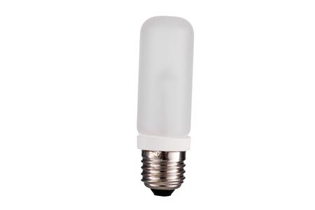 e27: E27 Strobes lightbulb straight  isolated on white background