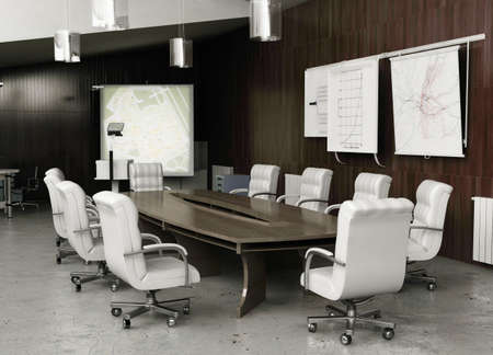 interior spaces: modern conference interior