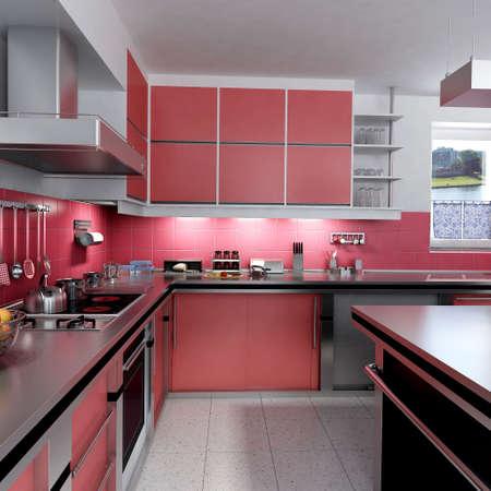wengue: Red de cocina