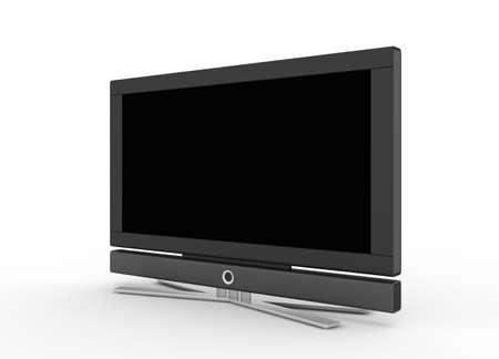 LCD screen TV Stock Photo - 5900595