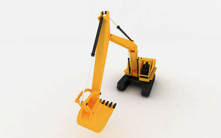 Yellow Loader Stock Photo - 5900736