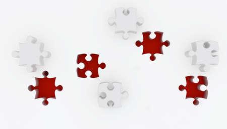 Jigsaw puzzle Stock Photo - 5900597