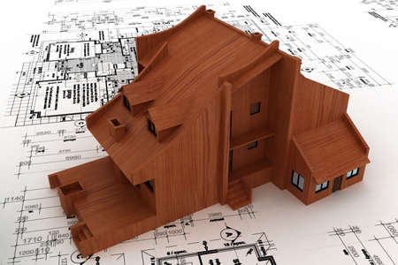 house on sketch Stock Photo - 5917394