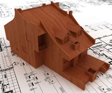 house on sketch Stock Photo - 5917386