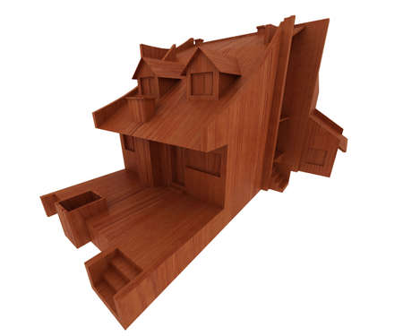 wooden house Stock Photo - 5917242