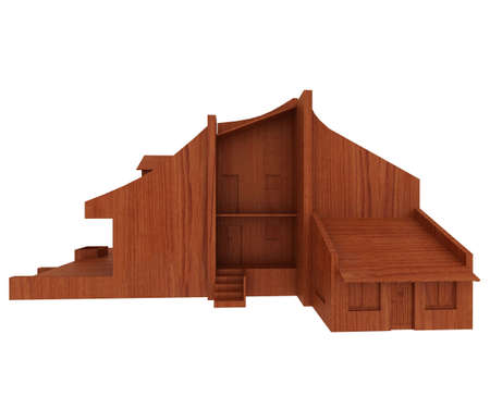wooden house Stock Photo - 5917147