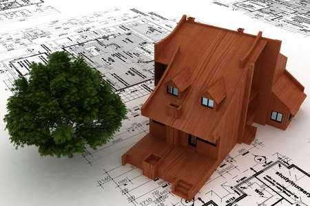 house on sketch Stock Photo - 5917442