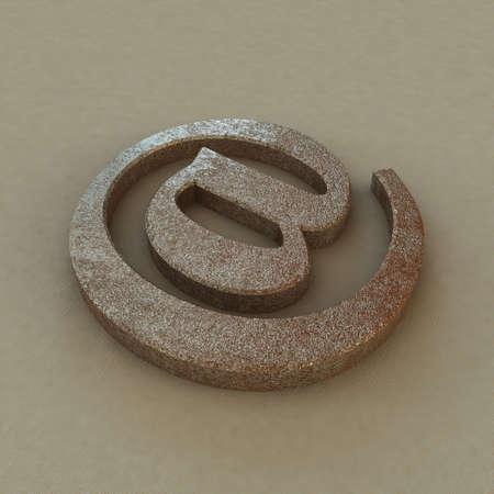 email symbol photo