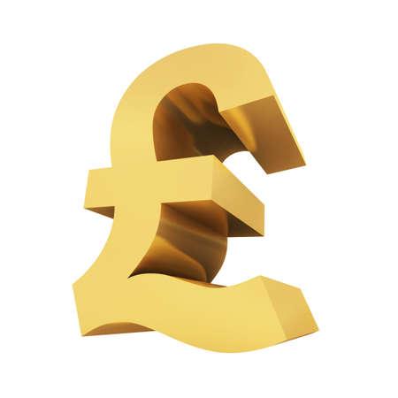UK pound symbol photo