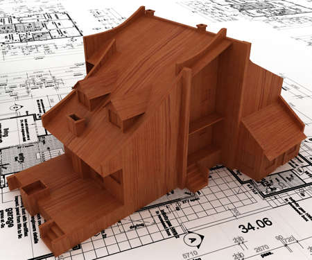 house on sketch Stock Photo - 5917478