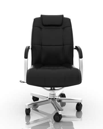 sentarse: Sillón de Oficina de imagen de alta resolución. Perfecta ilustración 3d con la más alta resolución aislada en blanco