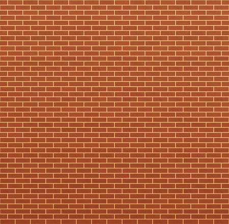 Perfect clear orange brick texture photo