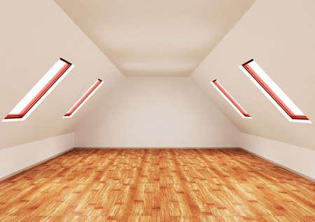 3d rendering of an empty room Stock Photo - 6301672