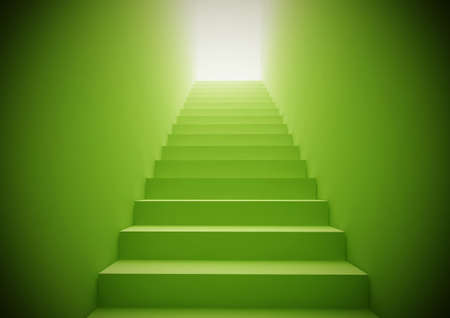 Green Staircase photo