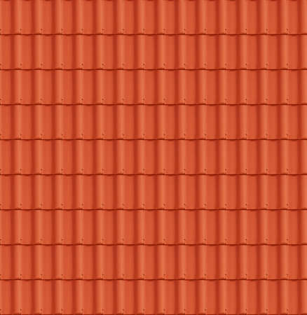 Close up Detail of Perfect Roof Tiles texture