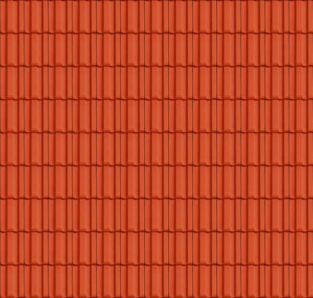 Close up Detail of Perfect Roof Tiles texture Stock Photo - 8713793