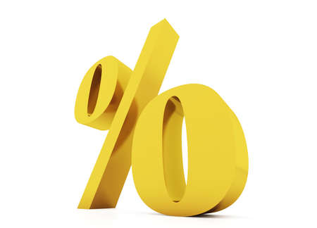 percentage sign: Gold procent