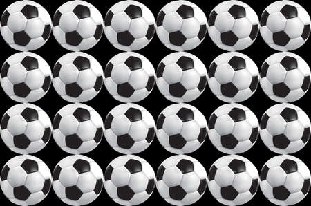 Abstract Background with soccer ball photo