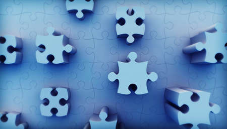 Jigsaw puzzle Stock Photo - 7949955
