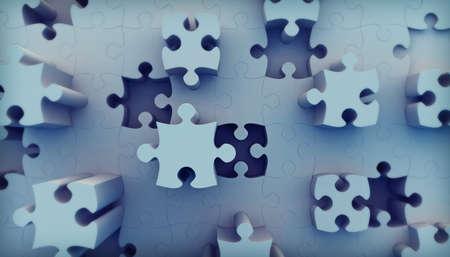 Jigsaw puzzle Stock Photo - 7949940