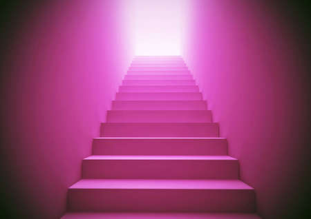 Pink Staircase photo