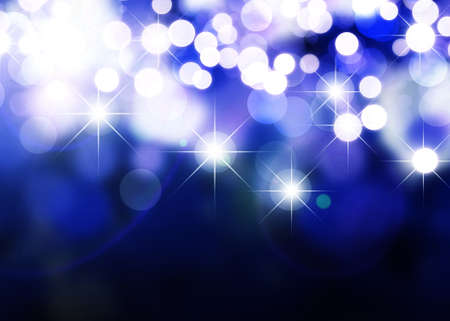 Abstract background of holiday lights Stock Photo - 8492159