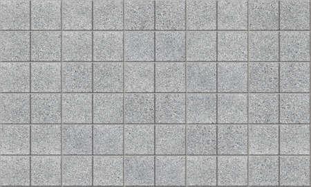 Tiled concrete pavement photo