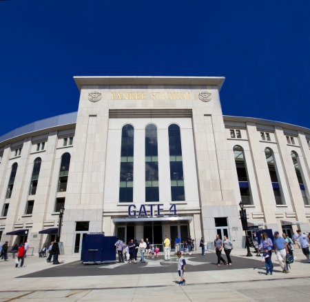 yankee: NEW YORK CITY - MAY 13: The Yankees are at home playing against the Seattle Mariners on Mothers Day, May 13, 2012 at Yankee Stadium, New York City.
