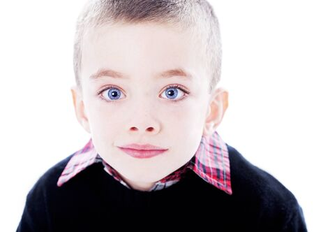 Boy portrait en studio Handome