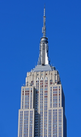 NEW YORK CITY - MAY 6: The top of the Empire State building, when completed in 1931, was the tallest building in the world on May 6th, 2012 in Manhattan, New York City. Stock Photo - 16180221