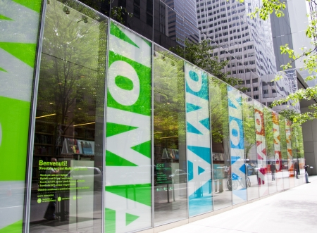 NEW YORK CITY, NY - MAY 6: MoMA is considered to be one of the best modern art museums in the world. It recently went through a  major renovation completed by Yoshio Taniguchi on May 16, 2012 in New York City, NY Editorial