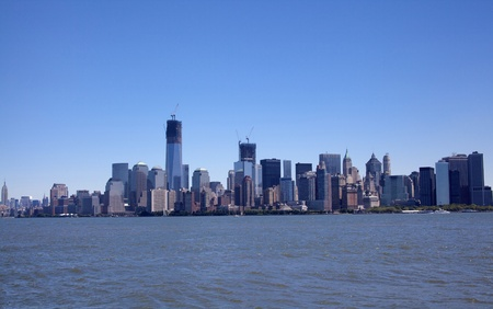 New York City Skyline on a beautiful day Stock Photo - 22187136