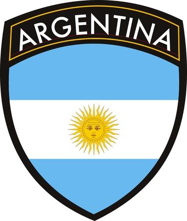 VECTOR ARGENTINIÃ‹ vlag met CREST