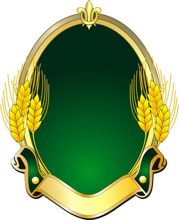 afbeelding van een logo vector met graan