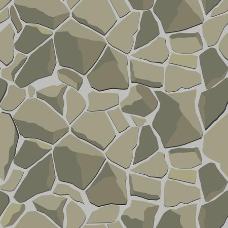 vectorial con la textura de pared de piedra gris Ilustración de vector