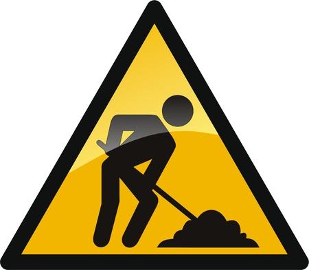 triangle button: bot�n de trabajo en curso
