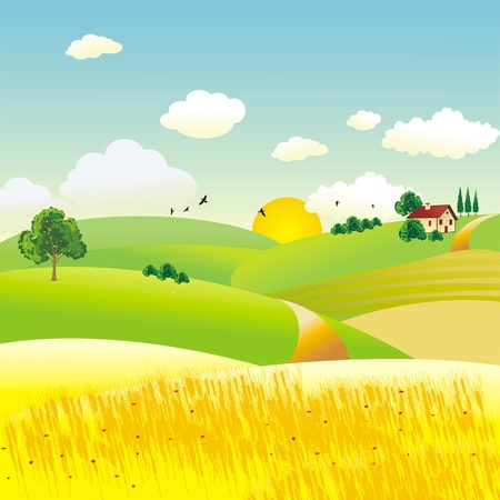 agriculture Stock Vector - 9488926