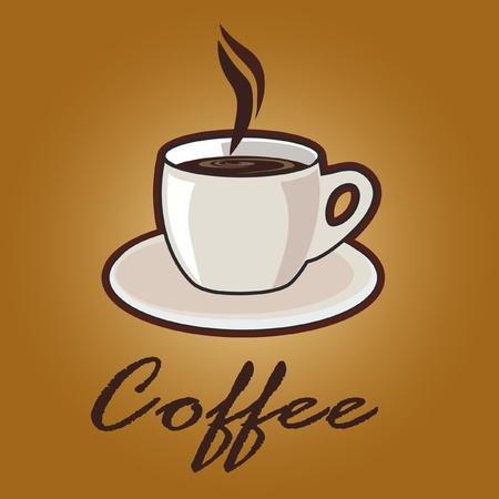 sign holder: coffee