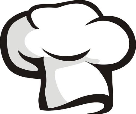 gorro chef: cocinero sombrero