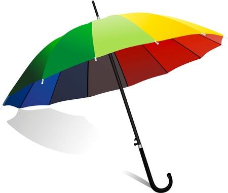 leakage: umbrella Illustration