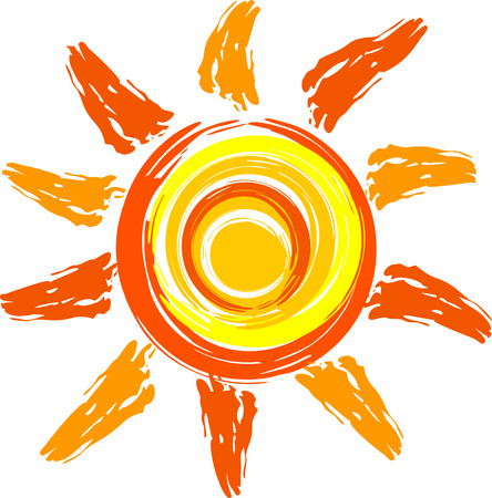 sun ray: sun Illustration