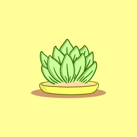 potted plants vector, easy to edit and use
