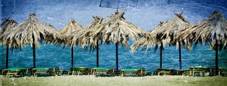 Vintage seascape Stock Photo - 8872809