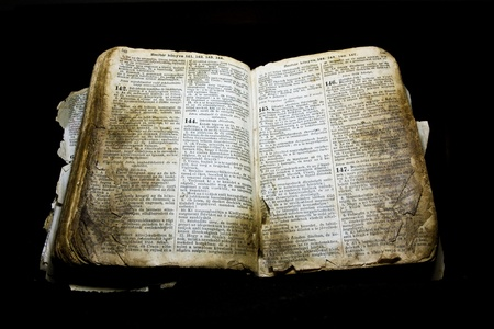 różaniec: Stare Biblii