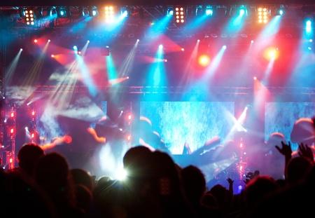 표시: 콘서트에서 군중