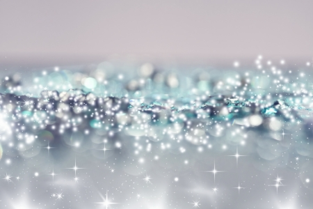Abstract silver Christmas background Stock Photo