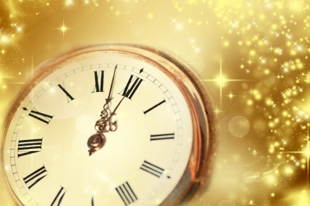 New Year at midnight Stock Photo - 23854730