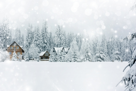 village: Cottage in romanian mountains